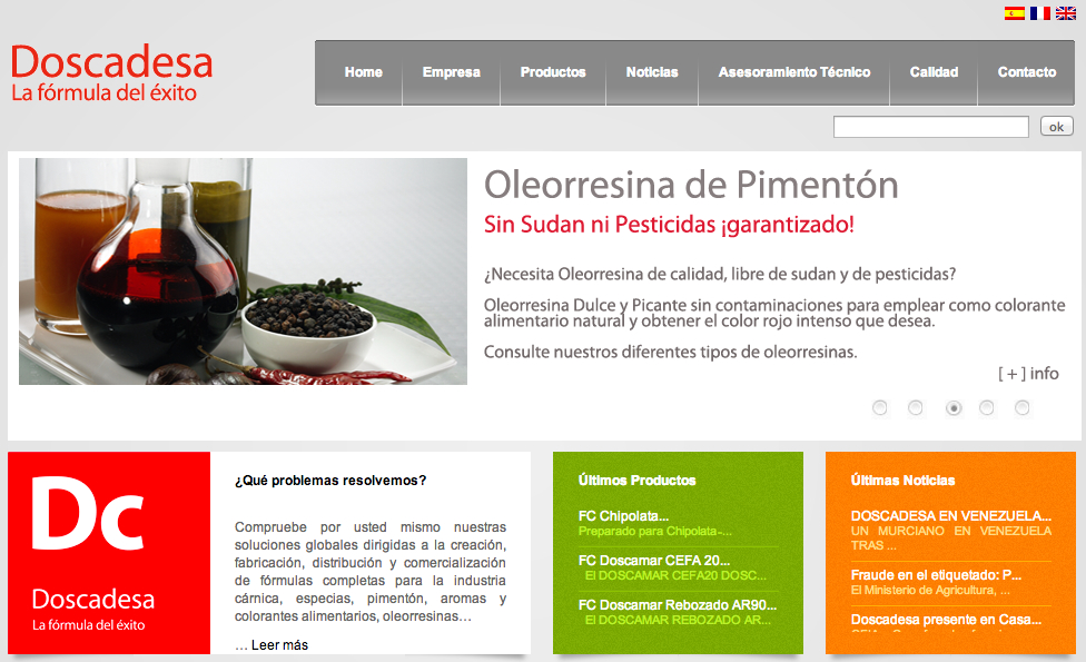 Doscadesa Wordpress