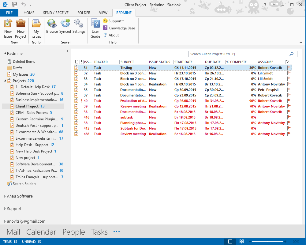 Redmine Outlook Add-In plugin | Redmine Plugins Promo Codes