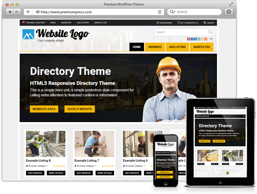 Premiumpress Directory Theme