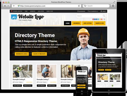 Premiumpress Directory Theme